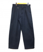 uniform experiment(ユニフォームエクスペリメント)の古着「スラックス」|ネイビー