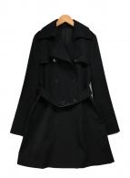 ()の古着「トレンチコート」|ブラック
