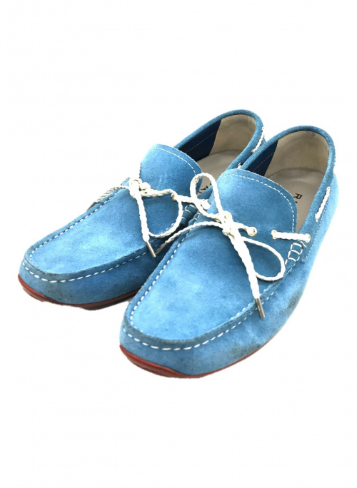 REGAL(リーガル)REGAL (リーガル) ドライビングシューズ ブルー サイズ:26 1/2の古着・服飾アイテム