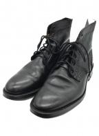 Tricker's(トリッカーズ)の古着「ダービーブーツ」 ブラック