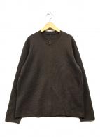 ()の古着「ニットジャケット」|ブラウン