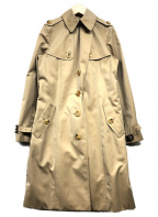 BURBERRY(バーバリー)の古着「ウールライナー付シングルコート」 ベージュ
