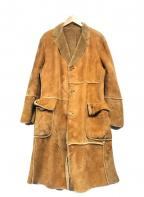 PAUL SMITH(ポールスミス)の古着「ムートンコート」 ブラウン