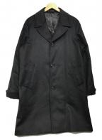PAUL SMITH(ポールスミス)の古着「カシミヤチェスターコート」|ブラック