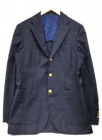BEAMS F(ビームスエフ)の古着「ブレザー」 ネイビー