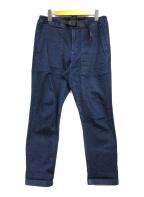 GRAMICCI(グラミチ)の古着「デニムイージーパンツ」|インディゴ