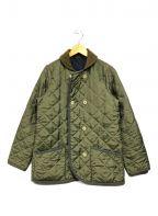 Traditional Weatherwear()の古着「キルティングコート」 カーキ