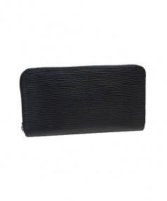 LOUIS VUITTON(ルイ・ヴィトン)の古着「ラウンドファスナー財布」|ブラック