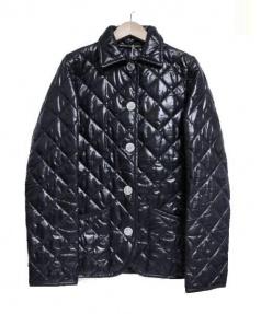 Traditional Weatherwear(トラディショナルウェザーウェア)の古着「中綿キルティングジャケット」 ブラック