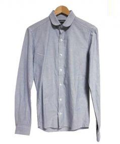 BESPOKEN(ビースポークン)の古着「UK製ラウンドカラーシャツ」 ブルー