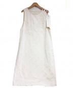 latelier du savon(アトリエドゥサボン)の古着「ワンピース」|アイボリー