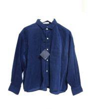 INDIVIDUALIZED SHIRTS(インディビジュアライズドシャツ)の古着「SMOCKシャツ」 ネイビー