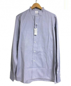 ANATOMICA(アナトミカ)の古着「OXバンドカラーシャツ」|ブルー