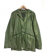 Christopher Raeburn(クリストファーレイバーン)の古着「PARACHUTE CLOTH JACKET ジャケット」 オリーブ