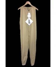 Edwina Horl(エドウィナホール)の古着「salopette pants サロペットパンツ」|ベージュ