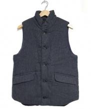 A VONTADE(ア ボンタージ)の古着「Reversible Pack Vest ダウンベスト」 ネイビー