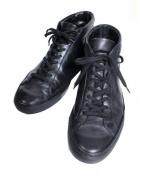 COMMON PROJECTS(コモンプロジェクツ)の古着「Original Achilles Mid スニーカー」|ブラック