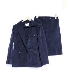 miss ashida(ミスアシダ)の古着「セットアップスーツ」|ネイビー