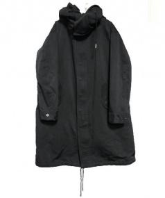 THE RERACS(ザ リラクス)の古着「M65 LONG MODS COAT モッズコート」|ブラック