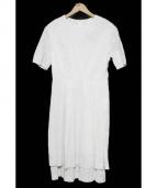 yuni(ユニ)の古着「リネン混刺繍ワンピース」|ホワイト