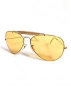 RAY-BAN(レイバン)の古着「B&Lアビエーターサングラス」|ゴールド