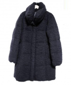 ANAYI(アナイ)の古着「ブークレニットダウンコート」|ネイビー