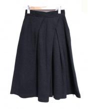Plage(プラージュ)の古着「コットンリネンタックスカート」|ブラック