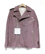 so1:1(ソウワンバイワン)の古着「GOAT SUEDEレザールーズライダースジャケット」|モカ