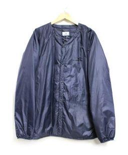 SUPER SHRUB SUPPLY(スーパーシュラブサプライ)の古着「PT Down Cardigan ダウンジャケット」 ネイビー