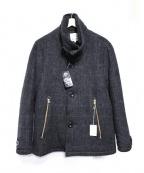 Honnete(オネット)の古着「SINGLE P COAT コート」|グレー
