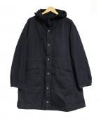Manual Alphabet(マニュアルアルファベット)の古着「EXPLORER HOOD-COAT ジャケット」|ブラック