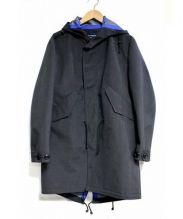 COMME des GARCONS HOMME(コムデギャルソンオム)の古着「エステルウールストライプモッズコート」