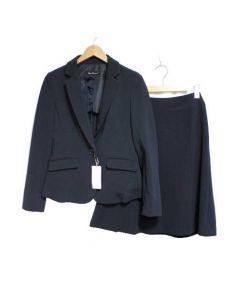 Clear Impression(クリアインプレッション)の古着「スカートスーツ」 ネイビー