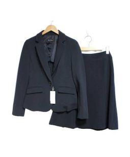 Clear Impression(クリアインプレッション)の古着「スカートスーツ」|ネイビー