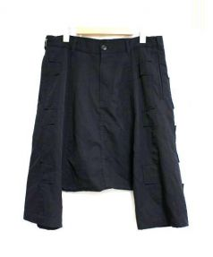 COMME des GARCONS HommePlus(コムデギャルソン・オム・プリュス)の古着「サルエルパンツ」|ブラック