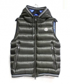 MONCLER(モンクレール)の古着「AMIENS GILET ダウンベスト」|カーキ