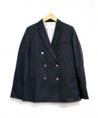 Rouge vif(ルージュ・ヴィフ)の古着「ダブルブレストジャケット」|ブラック