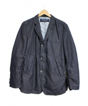COMME des GARCONS HOMME(コムデギャルソンオム)の古着「スナップボタンジャケット」|インディゴ