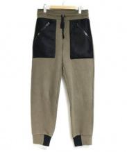 Christopher Raeburn(クリストファーレイバーン)の古着「メッシュポケットジョガーパンツ」|オリーブ