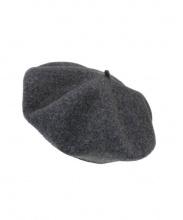 SCHA(シャー)の古着「ベレー帽」|チャコールグレー