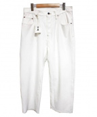 A(エィス)の古着「WIDE WHITE PANTS ボトムス」|ホワイト