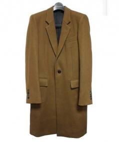 JOHN LAWRENCE SULLIVAN(ジョンローレンスサリバン)の古着「ロングチェスターコート」|ブラウン