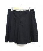 COMME des GARCONS HommePlus(コムデギャルソンオムプリュス)の古着「スカートショーツ」|ブラック