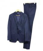 COMME CA MEN(コムサメン)の古着「2Bスーツ」|ネイビー