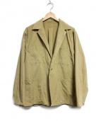 221VILLAGE(ニーニーイチヴィレッジ)の古着「GARDEN JACKET EX ジャケット」|ベージュ