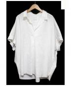 BAYFLOW(ベイフロー)の古着「リネン混シャツ」 ホワイト