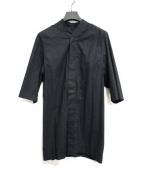 RICK OWENS(リックオウエンス)の古着「ビッグS/Sシャツ」|ブラック