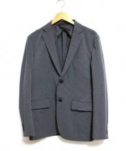 EDIFICE(エディフィス)の古着「Ny/Pe STRETCH 2Bジャケット」|グレー