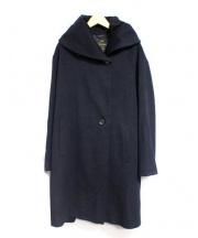 23区(ニジュウサンク)の古着「ロロピアーナスーパーファインウールコート」|ネイビー