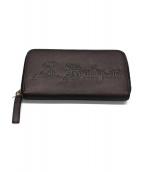 BVLGARI(ブルガリ)の古着「ラウンドファスナー長財布」|シルバーカラー